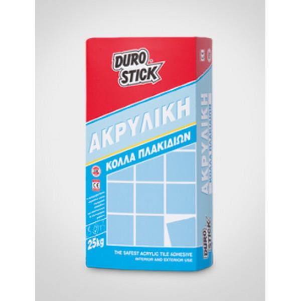 ΑΚΡΥΛΙΚΗ - Kόλλα πλακιδίων DUROSTICK 25kg Προϊοντα Χρώματα - seferis-xromata.gr