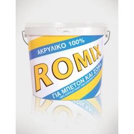 Χρώματα - seferis-xromata.gr DUROSTICK ROMIX ΑΚΡΥΛΙΚΟ 100% - 15Kg Χρώματα - seferis-xromata.gr