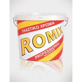 Χρώματα - seferis-xromata.gr ROMIX PROFESSIONAL -1Kg- Πλαστικό χρώμα Χρώματα - seferis-xromata.gr