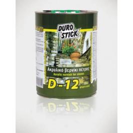 βερνικια πετρας - DUROSTICK D-12 -1lt- Βερνίκι πέτρας διαλύτου Προϊοντα Χρώματα - seferis-xromata.gr