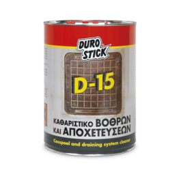 DUROSTICK D-15 -5Kg- Αποφρακτικό υγρό για σωλήνες και σιφώνια Προϊοντα Χρώματα - seferis-xromata.gr