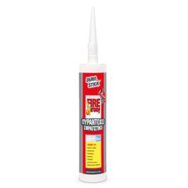DUROSTICK FIREPROOF 280ml - Πυράντοχο σφραγιστικό έως 1.200 °C Προϊοντα Χρώματα - seferis-xromata.gr