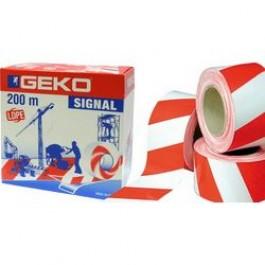 Geko Ταινία Σήμανσης Λευκό-Κόκκινο 70mmx200m Προϊοντα Χρώματα - seferis-xromata.gr